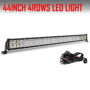 44inch Cree Led Work Light Bar Combo Offroad Driving 4wd Truck Atv Ford 42 46