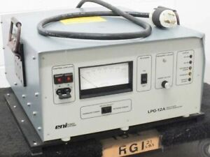 Eni Power Systems Solid State Low Frequency Rf Power Generator Lpg 12al