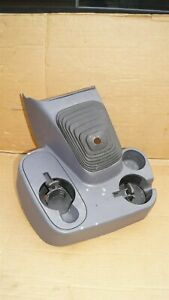 98 01 Dodge Ram Floor Console Cup Holder 5 6spd Manual Shifter 1500 2500 3500