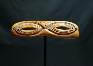 100 From Late 19th To Early 20th Century Inuit Fossil Snow Glasses Goggles