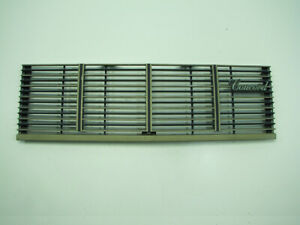 80 83 Amc Concord Front Grille 3736272