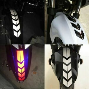 Scooter Reflective Sticker Decoration Electric Bike Graphic Decal Safe Light Car