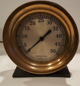8 American Steam Gage Pressure Gauge Brass Steampunk Industrial
