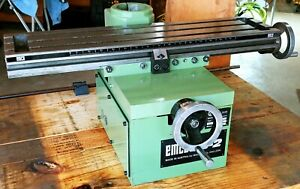 Emco Maximat Super 11 Fb 2 Xy Table For Mill Drill Inch Based Re ground F28s