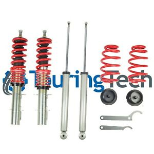 Touring Tech Lowering Coilovers For 1999 2005 Golf Jetta 1998 2010 Beetle