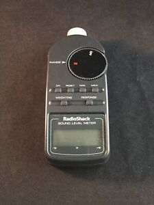Vintage Radioshack Digital Sound Level Meter
