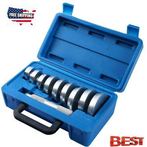 10pc Bearing Race And Seal Driver Set Automotive Bushing Installer Remover Kit