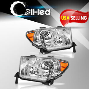 For 2007 2013 Toyota Tundra 2008 2017 Sequoia Headlights Replacement Left Right