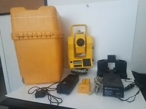 Geodolite Gmd 504 Total Station With Case batteries