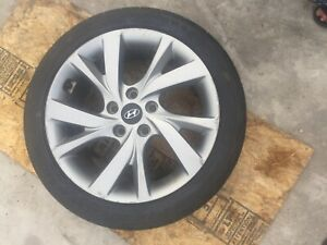Wheels Tires W Rims Hyundai Veloster 16 17 215 45r 17 Oem