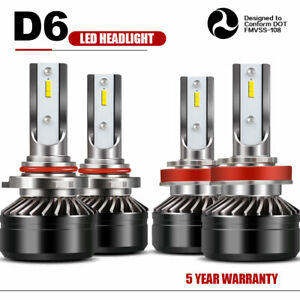 9005 h11 Combo Led Headlights High low Beam 6000k 120w 24000lm High Power Lamp