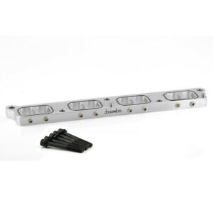 Boomba Racing Intake Manifold Spacer Silver For 2013 Ford Focus St