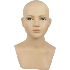 Mn 518 Child baby boy girl Mannequin Head Form With Realistic Face And Bust