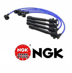 For Ngk Spark Plug Wire Set For Hyundai Elantra 2007 2005 2004 2003 2002 2001 99