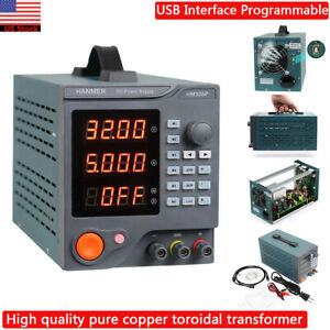 Hanmer Hm305p Variable Linear Regulated Digital Programmable Dc Power Supply