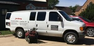 Duct Cleaning Business Machine And Van