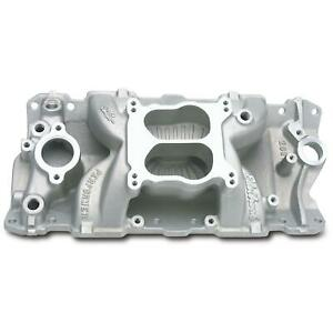 Edelbrock 2601 Performer Air Gap Intake Manifold 1955 86 S B Chevy