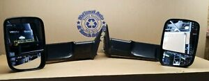 Oem Tow Mirrors Fits 2010 2012 Dodge Ram 1500 2500 3500 Pair 55372073 55372072