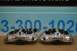 03 06 Mercedes Cl55 S55 E55 Cls55 Amg Front Brembo Brake Caliper Calipers Pair