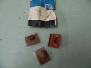 Nos Pontiac 1967 Grand Prix Lower Quarter Molding Mounting Clip Set 22