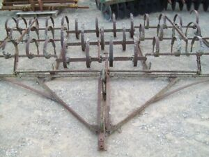 Spring Tooth Drag Harrow 12 foot Wide Good Condition Sells No Reserve