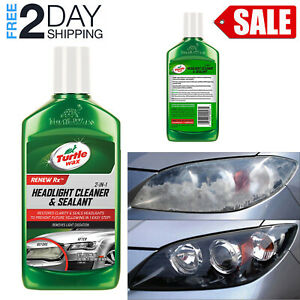 Headlight Restoration Kit Headlamp Restore Cleaner Wax Lens Sealant Polishing