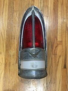 1955 1956 Packard Tail Light Bezel And Lens Patrician Caribbean 400
