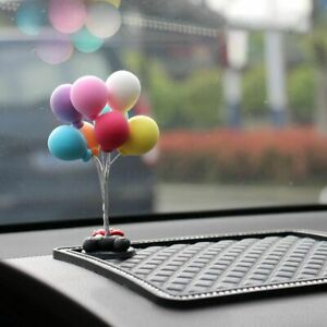 Balloons Car Dashboard Sticky Decoration Toy Floating Decor Auto Mini Funny Gift
