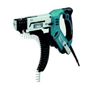 Makita 6841 Auto Feed Gun Screw Driver 20 41mm 6000rpm Corded 220 240vac 470w