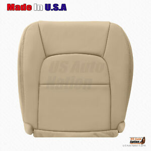 For 1993 1994 Lexus Sc300 Sc400 Driver Bottom Replacement Leather Seat Cover Tan