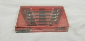 Snap on Rxfs605b 5 Piece Double End Flare Nut Wrench Set
