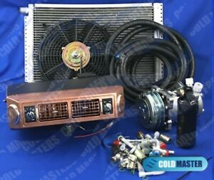A C Kit Universal Underdash Evaporator 432 Cpp 12x16 Cond W Electrical Harness