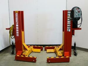 Pks Equipment Engineering Pkmr 36e Mid rise Electro Hydraulic Mobile Lifts 2