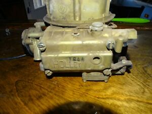 Holley Carburetor 1844 s Electric Choke 2 Barrel Carb Very Clean