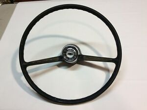 1965 Chevy Nova Ll Steering Wheel And Horn Button