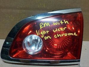 Passenger Right Oem Buick Enclave 08 12 Inner Tail Light Lamp Au0861 Rm Grade