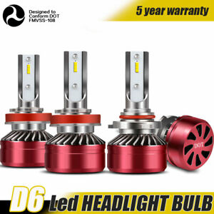 9005 h11 Combo Led Headlights High low Beam 6000k 120w 24000lm High Power