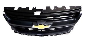 84270804 Cyber Grey Metallic Front Grille 2015 18 Chevrolet Colorado