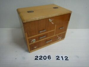 Japanese Wooden Sewing Box Japanese Tansu Drawer