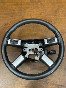 2010 Dodge Charger Srt8 Steering Wheel W Controls Black Oem