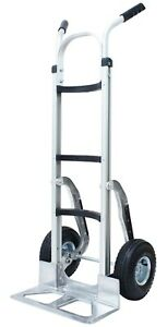 Tyke Supply Commercial Aluminum Hand Truck For Cylinder Kegs Air Tires Hs 27
