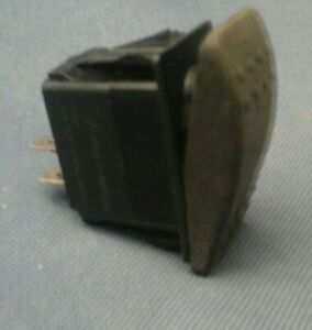 Carling Technologies Unlit Dpst Momentary On Off 12v 20a 4 Pin Rocker Switch