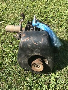 Rare Briggs Stratton Model Wmb Kick Start Gas Engine Motor