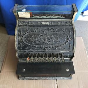 1911 Antique Brass Ncr National Cash Register Model 333