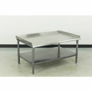 Used Stainless Steel Equipment Stand Equipment Stands used