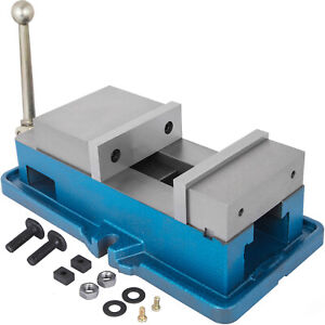 5 Non swivel Milling Lock Vise Bench Clamp Precision Secure Clamping Vise