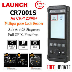 Launch X431 Creader Cr7001s Obd Code Reader Engine Abs Srs Diagnostic Scan Tool