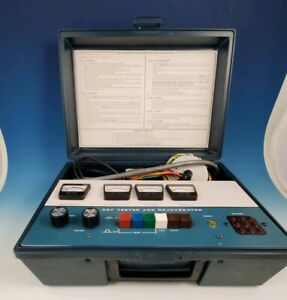 Vintage Heathkit Crt Tester And Rejuvenator Model It 5230 With Adapters