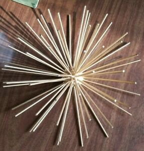 Mid Century 10 Metal Sputnik Sea Urchin Atomic Wall Sculpture Unsigned Jere