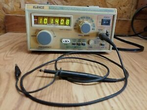 Elenco Sg 9500 Wide Band Rf Signal Generator Counter 100khz To 450mhz In 6 Range